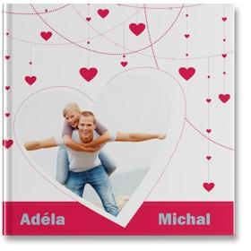plochá fotokniha pro zamilované
