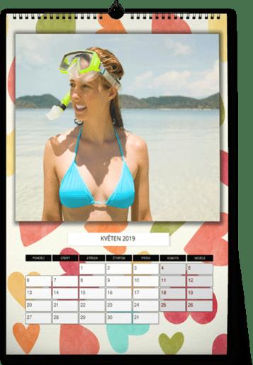 fotokalendář A4 - léto