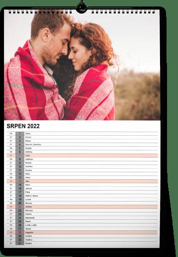 fotokalendář A4 - přátelé