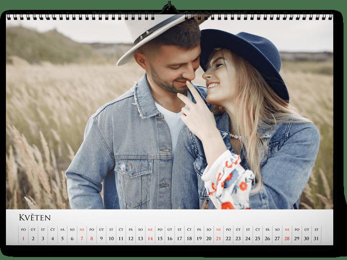 fotokalendář A4 na šířku - relax